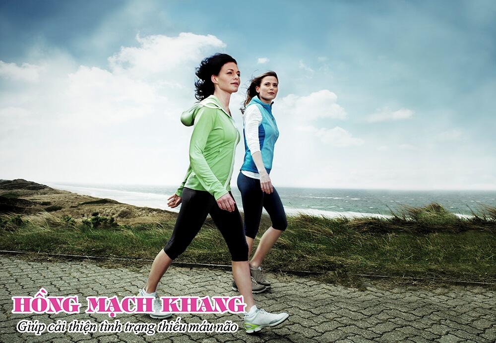 Vận động chể chất đều đặn giúp cải thiện tình trạng thiếu máu não